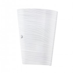 Eglo 91856 WL/1 E27 SATINIERT M.STREIFEN CAPRICE nástenné svietidlo
