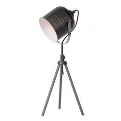 Lucide 71535/01/15 STUDIO Table Lamp E14 H62.5 D20cm Iron Grey