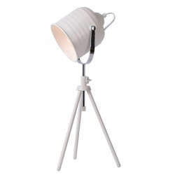 Lucide 71535/01/31 STUDIO Table Lamp E14 H62.5 D20cm White