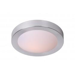 Lucide 79158/01/12 FRESH Ceiling Light IP44 1xE27 D27cm Brush Al