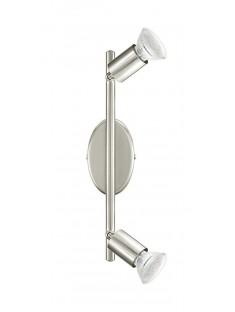 Eglo 92596 LS/2 NICKEL-MATT BUZZ-LED spot stropný