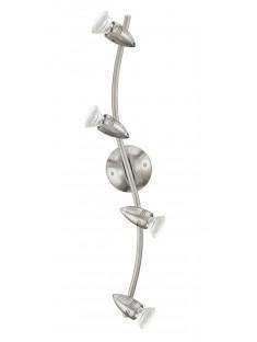 Eglo 92644 WELLE/4 NICKEL-M/CHROMMAGNUM-LED spot stropný
