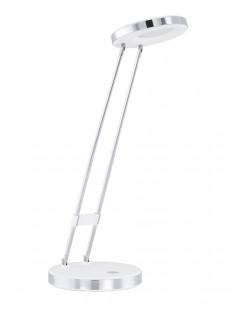 Eglo 93077 LED-TL WEISS/CHROM GEXO stolná lampa