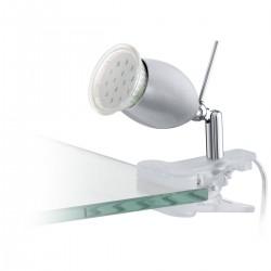 Eglo 93119 KLEMMSPOT/1 GU10 SILBER BANNY 1 stolová lampa