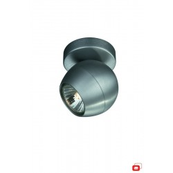 LIRIO 57030/48/PN PLANET single spot aluminium 1x50W spot stropný