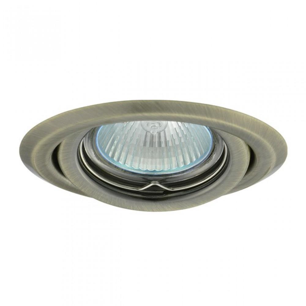 Kanlux 00330 ARGUS CT-2115-BR/M, priemer 95 mm, podhľadové bodové svietidlo
