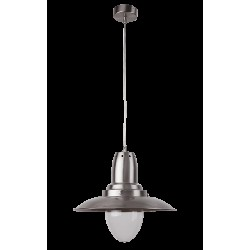 Rábalux 2594  Bonnie pendant satin-chrome, E27, 1*60W