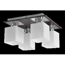 Rábalux 2772  Reda ceiling lamp E24 4x60W chrome,wenge