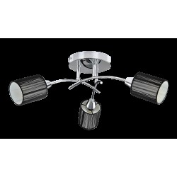 Rábalux 6003 Veda ceiling lamp, E14 3*9W chrome,black