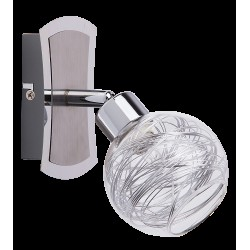 Rábalux 6015 Bella wall lamp, G9, 28W, chrome