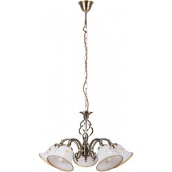 Rábalux 7175 Art flower, pendant lamp, 5 arms, D55cm