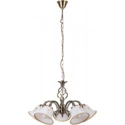 Rábalux 7175 Art flower, pendant lamp, 5 arms, D55cm