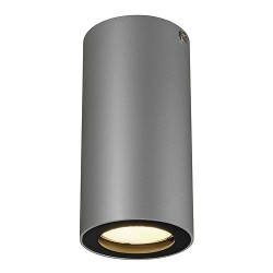 SCHRACK TECHNIK ENOLA_B stropné svietidlo,CL-1, strieb./čierne,GU10,max. 35W- LI151814