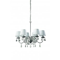 Massive -  Philips 37315/11/10 NEYO chandelier chrome 6x40W 230V
