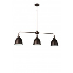Massive - Philips 37411/43/10  DUNLO pendant copper 3x75W 230V