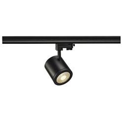Schrack Technik ENOLA_C 9 SPOT, round, black, 9W, 3000K, 35°, 3-ph.adaptor- LI152420