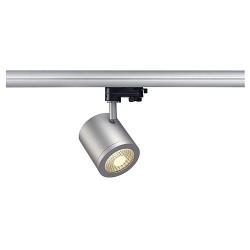 Schrack Technik ENOLA_C 9 SPOT, round, silvergrey,9W,3000K, 35°,3-ph.adaptor- LI152424