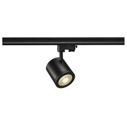 Schrack Technik ENOLA_C 9 SPOT, round, black, 9W, 3000K, 55°, 3-ph.adaptor- LI152430