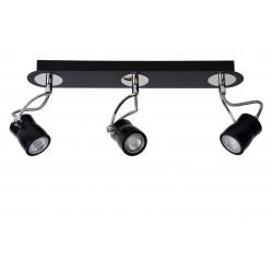 Lucide SAMBA Spot LED 3xGU10 4.5Wincl 3000K 40/- 16955/15/30
