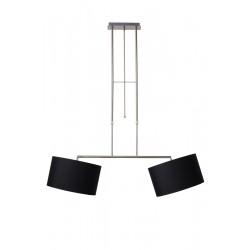 Lucide BILJA Pendant 2xE27 Dimb. L105cm 2xShade- 17400/02/30