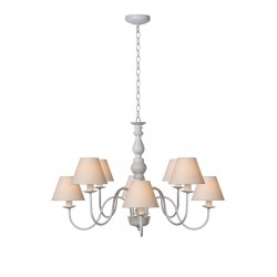 Lucide CAMPAGNE Chandelier 8xE14 Shade61009/16/- 31333/08/21