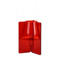 Lucide TRIPLI Table Lamp E14 H25 D20cm Red- 71550/01/32