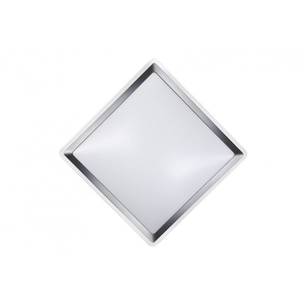 Lucide GENTLY-LED Ceiling light Square 24W 3000K 1800LM- 79172/24/12