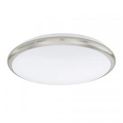 Eglo LED-DL Ø300 NICKEL-M/WEISS MANILVA- 93498 , stropné svietidlo