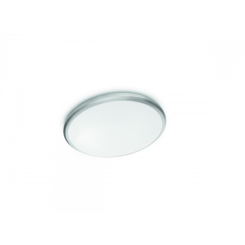 Massive - Philips Twirly 40K ceiling lamp grey 1x12W 240V- 31814/87/17 stropné svietidlo