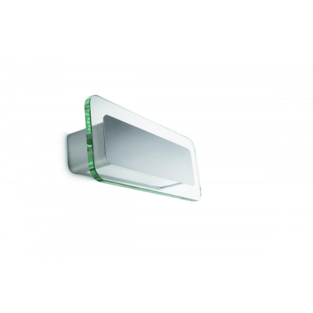 Massive - Philips  Optimist wall lamp aluminium 1x12W 230V- 34104/48/16 nástenná lampa