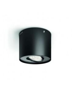 Massive - Philips Phase single spot black 1x4.5W SELV- 53300/30/16 stropné svietidlo