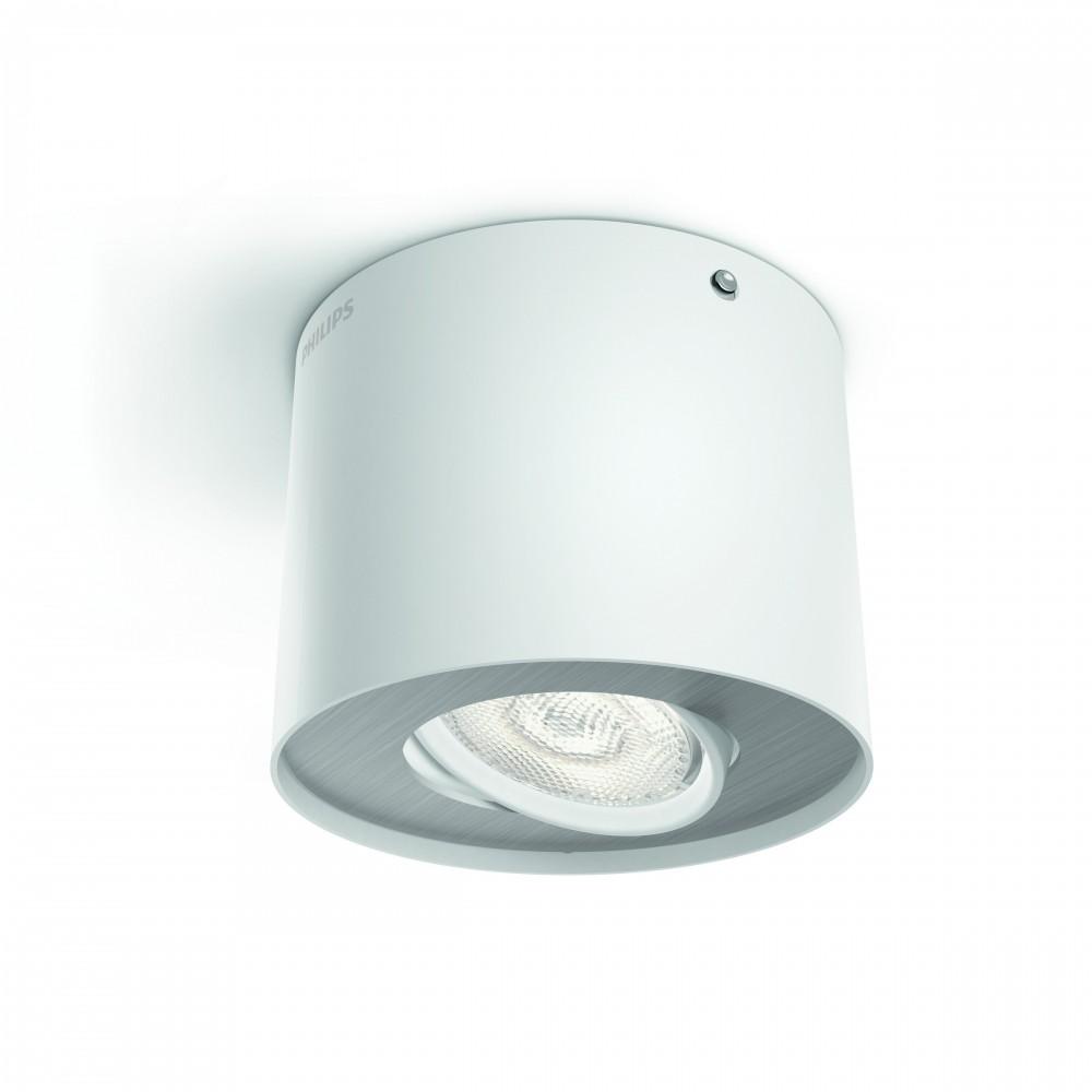 Massive - Philips Phase single spot white 1x4.5W SELV- 53300/31/16stropné svietidlo