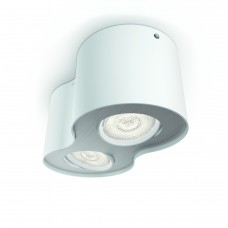 Massive - Philips Phase plate/spiral white 2x4.5W SELV- 53302/31/16 stropné svietidlo