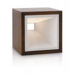 Philips In Style Kubiz table lamp rust 2x2.5W SELV 43268/86/16 stolné svietidlo