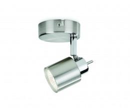 Massive-Philips 50310/17/E7 Meranti single spot nickel 1x35W 230V spot nástenný