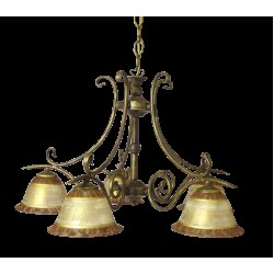 Tilago Parma 31 Chandelier with 5 brand., E14 5x 40W