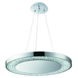 Searchlight 58880-80CC HALO LED - Závesné svietidlo