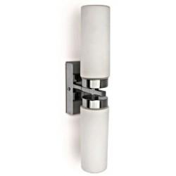 SCHRACK TECHNIK LID13020   Mirall Mirror light, E14, 2x40W, IP44, chrome