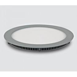 SCHRACK TECHNIK LID13065  Sutil Round LED Panel 30W, 3000K, 1797lm, Ø300mm, grey