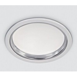 SCHRACK TECHNIK LID12977  Lumo Round LED downlight, 24W, 4000K, 1500lm, IP44, white