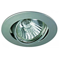 SCHRACK TECHNIK LID10454  Punto-A MR16 Spot, GU5,3, 50W, IP20, 12V, brass