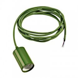Schrac Technik LI132655  FITU E27 pendulum luminaire, E27, max.60W, round, fern green