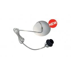 Schrack Technik LI155562  FENDA, E27 Pendulum suspension without screen, chrome