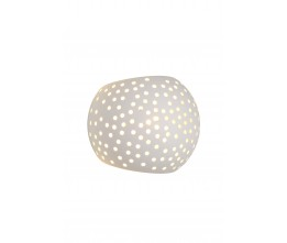 Lucide 35203/13/31 GIPSY Wall Light Round G9 15/12/11cm Whi