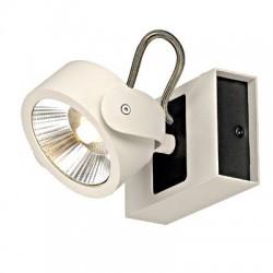 Schrack Technik LI147601  KALU LED 1 Wall- & ceiling luminaire 1x10W 3000K white/black