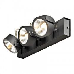 Schrack Technik LI147620  KALU LED 3 Wall- & ceiling luminaire 3x10W 3000K, matt black