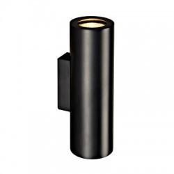 Schrack Technik   ENOLA_B UP/DOWN WALL LUMINAIRE, 2xGU10, max. 50W, black - LI151800