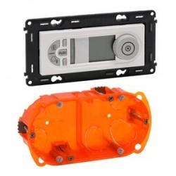 Legrand Valena Life - Programovateľný termostat, biela - 752135