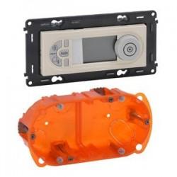 Legrand Valena Life - Programovateľný termostat, béžový - 752235