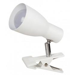 Rábalux 6026 EBONY, Štipcová lampa s káblovým spínačom